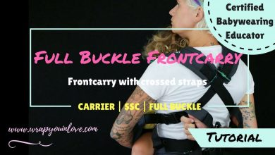 Photo of Full Buckle front carry with crossed straps