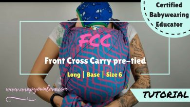 Photo of Front Cross Carry (FCC) pre-tied version
