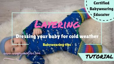 Photo of Babywearing: dressing your baby for the cold