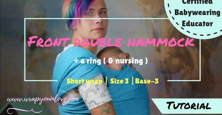 Photo of Front Double Hammock + ring (+ nursing)