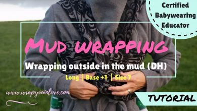 """Photo of Wrapping outdoors """"in the mud"""" – Double Hammock"""