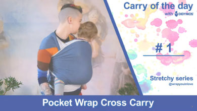 Photo of Pocket Wrap Cross Carry (PWCC) – stretchy