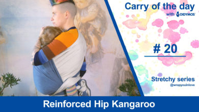 Photo of Reinforced Hip Kangaroo – stretchy series