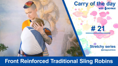 Photo of Front Reinforced Traditional Sling Robins – Stretchy Series