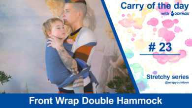 Photo of Front Wrap Double Hammock – Stretchy Series