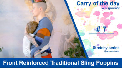 Photo of Front Reinforced Traditional Sling Poppins ( FRTS poppins) – stretchy