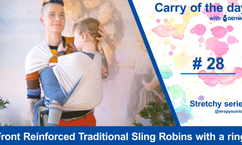 Photo of Front Reinforced Traditional Sling Robins with a ring – Stretchy Series