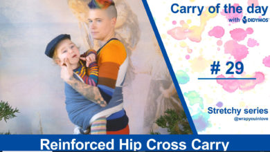 Photo of Reinforced Hip Cross Carry – Stretchy Series